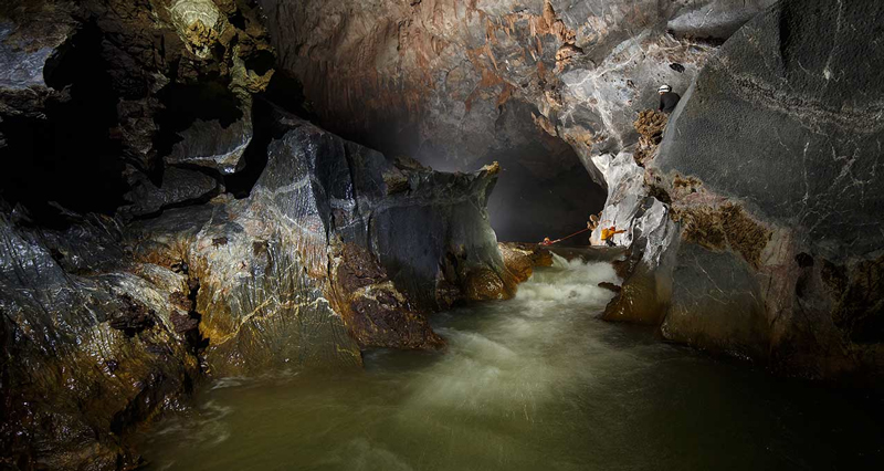Exploring the caves of Son Doong