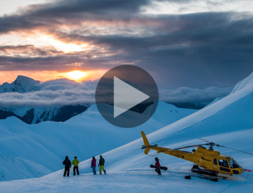 [Video] Your skis, a helicopter and 2.2 million acres all to yourself