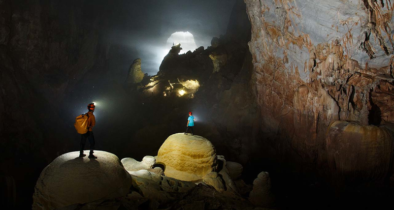 Explore the caves of Hang Son Doong