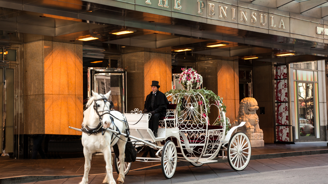 The Peninsula Chicago Princess for a Day Package