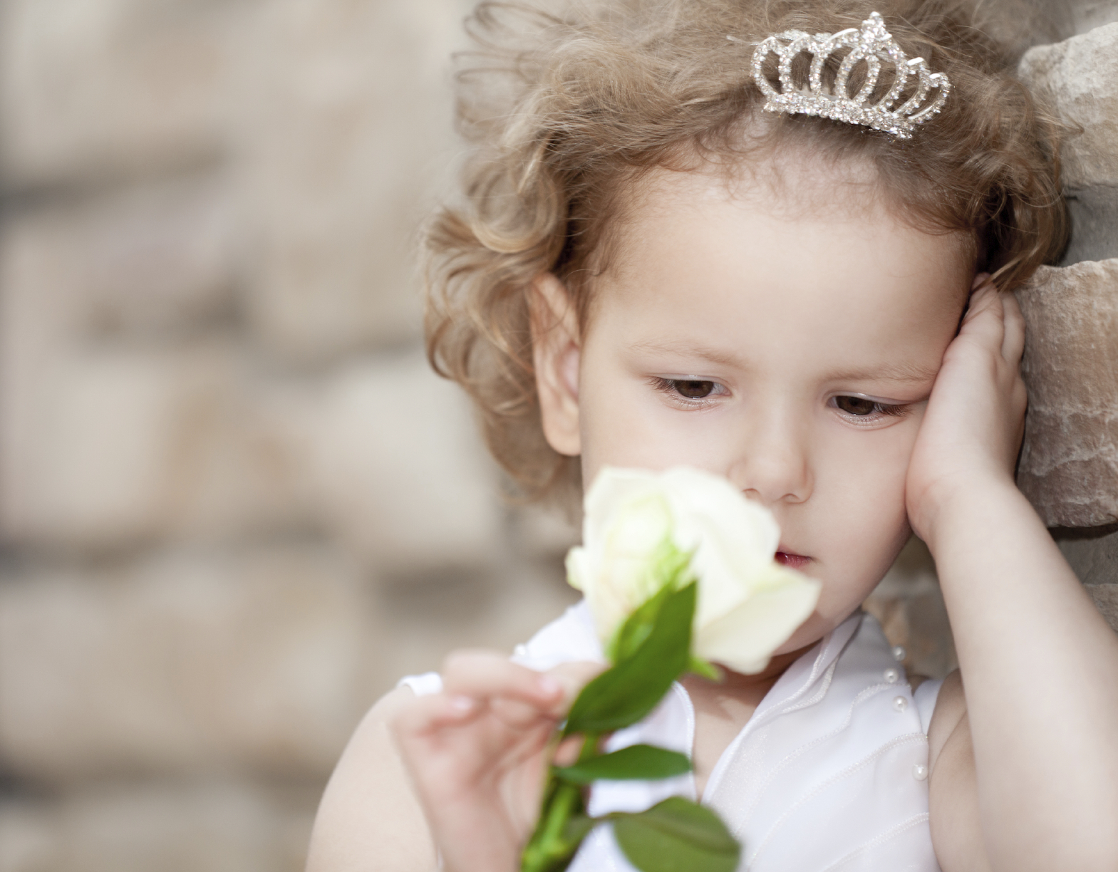 Every little girl longs to be a princess.
