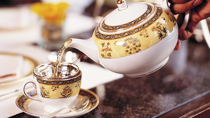 You can't be a princess if you can't master High Tea.