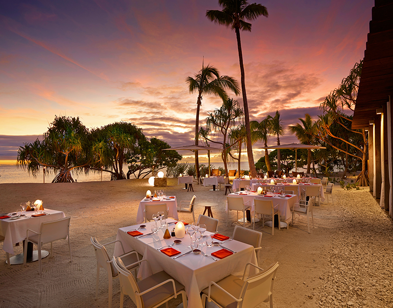 When you're in the mood for casual dining, the beach restaurant should hit the spot.
