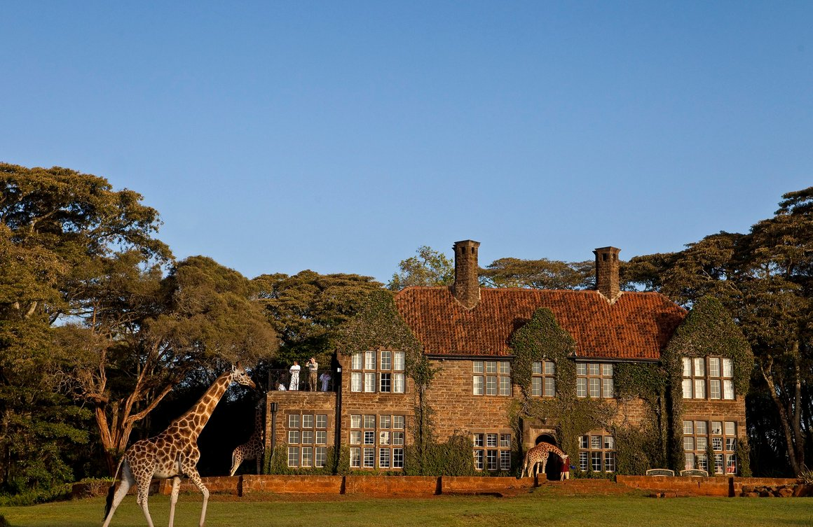 The Manor dates back to the 1930's and feels like it's straight from the pages of Out of Africa.