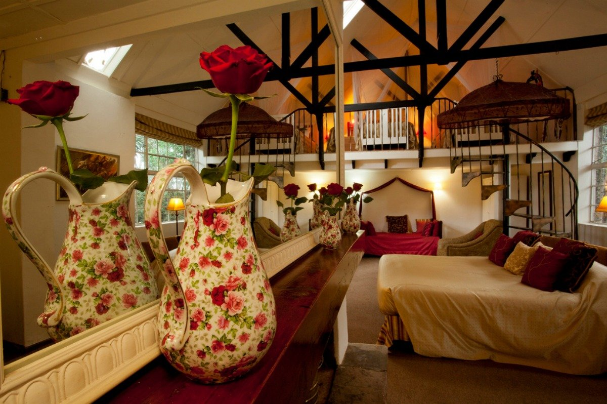 The suite is names after Karen Blixen, the author of Out of Africa, and is furnished with her possessions.