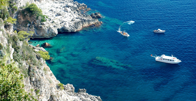 Private Guided Boat Tours of Capri, Italy